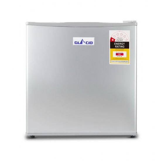 48L Portable Mini Bar Fridge - Silver