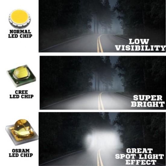 Osram 23inch 336W LED Light Bar 5D Lens SPOT FLOOD Driving 12v 24V