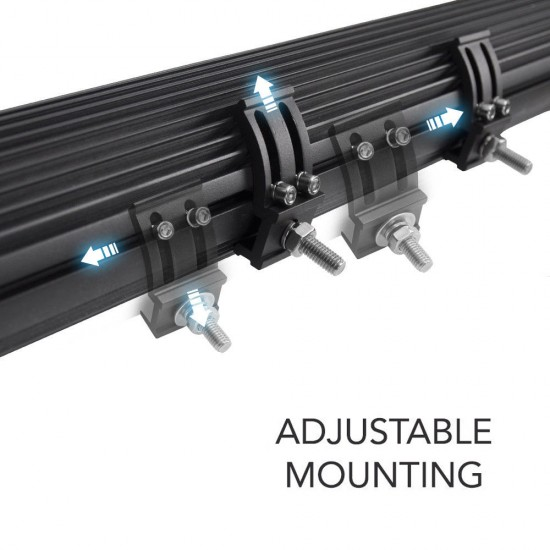 20INCH 780W LIGHT BAR CREE SPOT FLOOD COMBO OFFROAD WORK DRIVING 380@1LUX