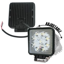 8X 27W CREE LED WORK LIGHT BAR OFFROAD FLOOD REVERSE TRUCK Driving 12V 24V 4x4