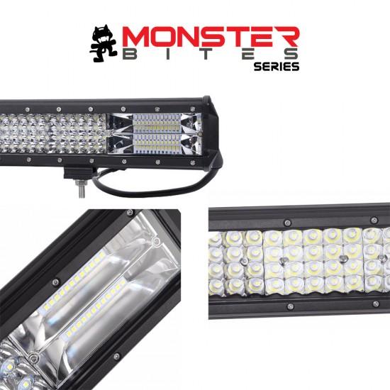 20 inch Philips LED Light Bar Quad Row Combo Beam 4x4 Work Driving Lamp 4wd
