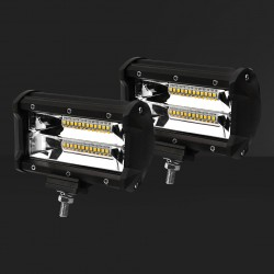 10x 5inch 36w LED Work Light Bar Flood Beam Reverse Driving Lights Offroad 4WD