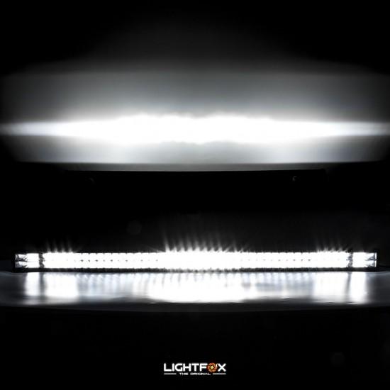 50inch Osram Philips LED Light Bar 5D Triple Flood Spot Offroad Driving 4WD 4x4
