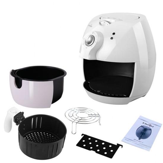 4L Air Fryer Oil Free Deep Cooker - White