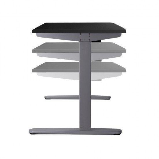 100cm Adjustable Frame Standing Desk - Black