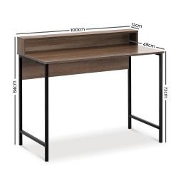 Artiss Computer Desk Metal Study Student Office Table