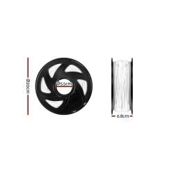 3D Printer Filament ABS 1.75mm 1kg per Roll White