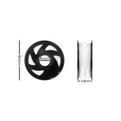 3D Printer Filament PLA 1.75mm 1kg per Roll White