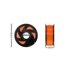 3D Printer Filament PLA 1.75mm 1kg per Roll Orange