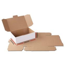 100x Mailing Box Diecut Mailer Cardboard A4 310x220x102mm