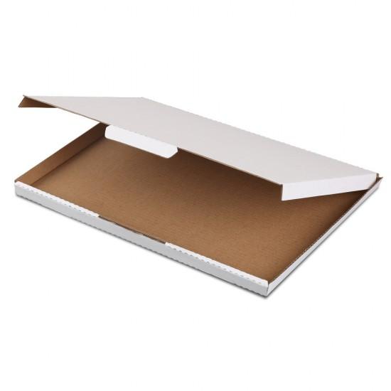 100x Mailing Box Super Flat Rigid Envelope Mailer Diecut A4 310x220x16mm