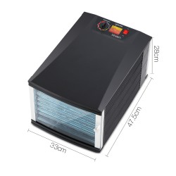 Commercial Food Dehydrator with 8 Trays