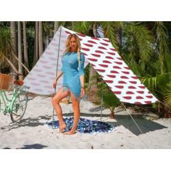 Good Vibes Summer Beach Tent Watermelon 148x370cm