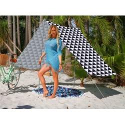 Good Vibes Summer Beach Tent Triangles 148x370cm