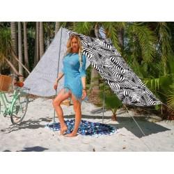 Good Vibes Summer Beach Tent Fern 148x370cm