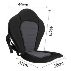 Adjustable Kayak Backrest with Straps