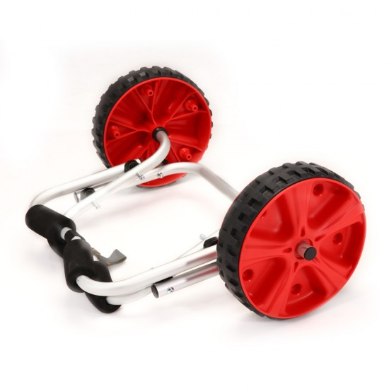 Aluminium Collapsible Kayak Trolley Wheel Cart Boat Carrier