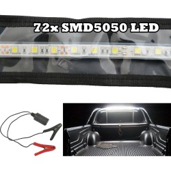LED FLEXIBLE CAMPING STRIP LIGHT 5050 SMD CARAVAN BOAT WATERPROOF BAR 12V 1.3M