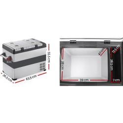 Glacio 55L Portable Fridge & Freezer