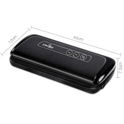 Vacuum Food Sealer Machine - Black