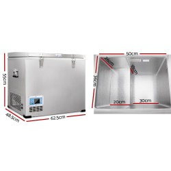 Glacio 70L Portable Fridge & Freezer
