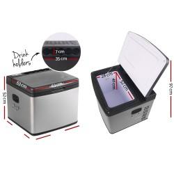 Devanti 60L Portable Fridge & Freezer