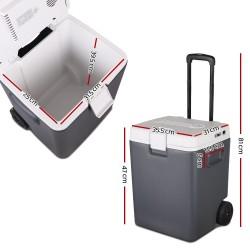Glacio 30L Portable Cooler Fridge - Grey