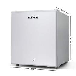 Glacio 55L Portable Bar Fridge & Freezer Caravan Camping