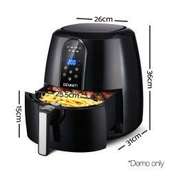 7L Oil Free Air Fryer - Black
