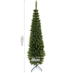 Jingle Jollys 6FT Slim Christmas Tree