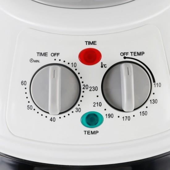 10L Air Fryer Oven Cooker - Grey