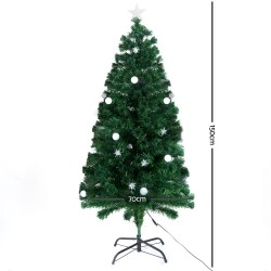 Jingle Jollys 1.5M 5FT LED Christmas Tree Multi Colour