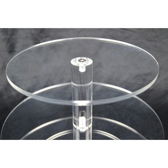 3 Tier Cupcake Stand 5mm Acrylic Wedding Display