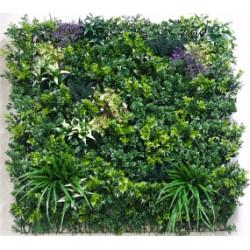 UV Stabilized White Summer Fields Select Range Vertical Garden 100cm X 100cm