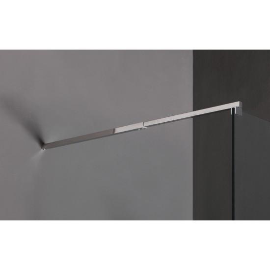 1000 x 2000mm Frameless 10mm Safety Glass Shower Screen