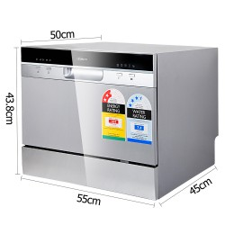 Electric Benchtop Freestanding Dishwasher