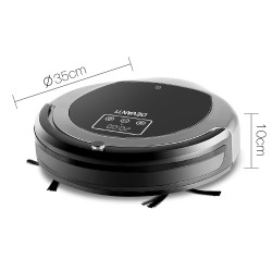 Robotic Vacuum Cleaner - Black & Grey