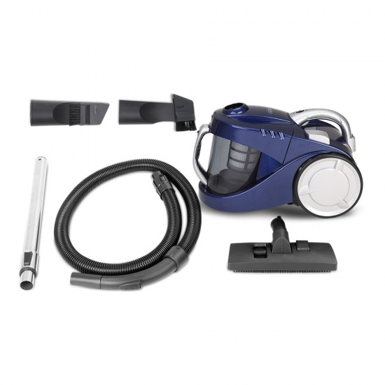 2800W Bagless Vacuum - Blue