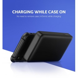 UGREEN 10000mAh Power bank with 10W QI Wireless Charging Pad - Black (50578)