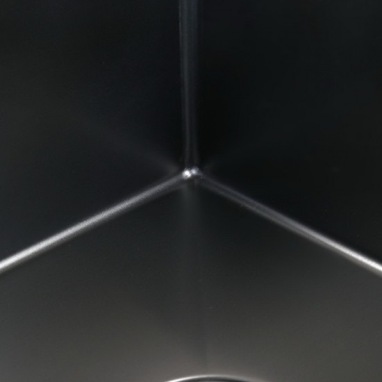Cefito 1000 x 450mm Stainless Steel Sink - Black