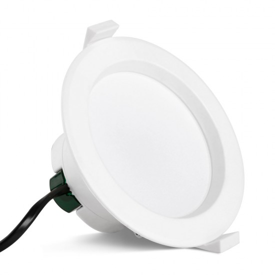 10 x LUMEY LED Downlight Kit Ceiling Light Bathroom Dimmable Daylight White 12W