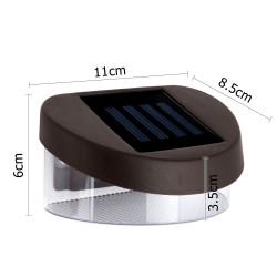 Set of 12 Solar Powered Sensor Fence lights