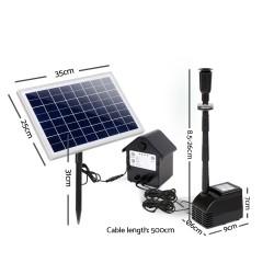 Gardeon Solar Powered Water Pond Pump 60W