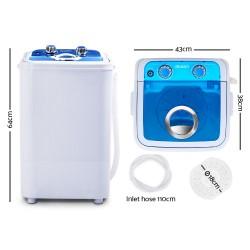 Devanti 4.6KG Mini Portable Washing Machine