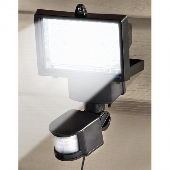 4x Bright Motion Detection Sensor Solar Security Light