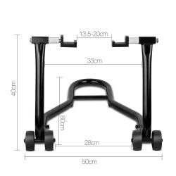 Giantz Rear Motorcycle Stand - Black