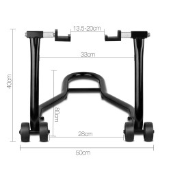 Giantz 2-in-1 Front/Rear Motorcycle Stand