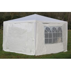 3x3m Gazebo Outdoor Marquee Tent Canopy White