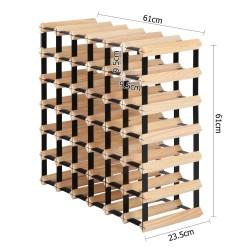 Artiss 42 Bottle Timber Wine Rack