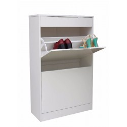 Adrianne Shoe Storage Cabinet 2 Drawer Shoe rack 1 Drawer Accessories